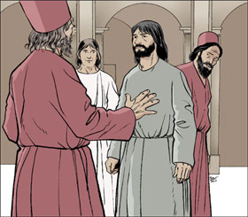 Jésus-Christ et les scribes