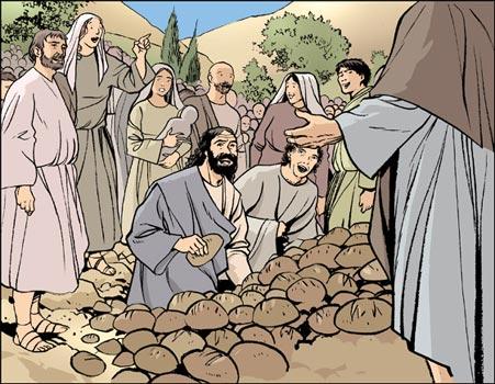 Jésus-Christ multiplication des pains