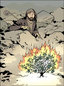 Moïse buisson ardent