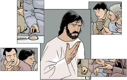 Jésus-Christ pain de vie